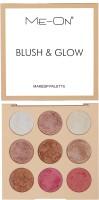 Me-on Blush & Glow Highlighter(Makeup Palette)