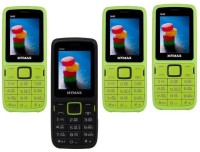 Mymax M40 Combo of Four Mobiles(Green&Black$$Black&Green$$Green&Black$$Green&Black)