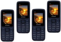 Mymax M40 Combo of Four Mobiles(Blue&Black$$Blue&Black$$Blue&Black$$Blue&Black)
