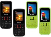 Mymax M40 Combo of Four Mobiles(Black&Red$$Black&Red$$Green&Black$$Green&Black)