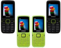 Mymax M40 Combo of Four Mobiles(Black&Green$$Green&Black$$Green&Black$$Black&Green)