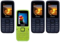 Mymax M40 Combo of Four Mobiles(Blue&Black$$Green&Black$$Blue&Black$$Blue&Black)