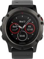 GARMIN Fenix 5X Smartwatch(Black Strap, Regular)