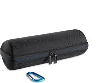 Taslar Speaker Case Cover for JBL Flip 1/2/3/4(BLACK, Artificial Leather, Rubber, Polycarbonate)
