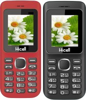 Hicell C5 Combo of Two Mobiles(Red&Black$$Black&Red)