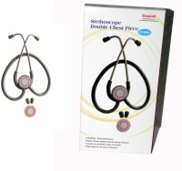Diamond Dual Deluxe ST0002 Latest Original New MRP 2018 Authentic ISI Mark Product Fresh (Exclusive) Acoustic Stethoscope(Black)