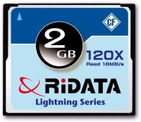 Ridata Camera 2 GB Compact Flash Class 4 18 MB/s  Memory Card