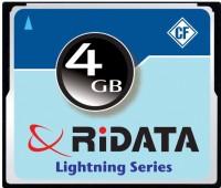 Ridata Lightning 4 Gb CompactFlash I Card Class 4 18 MB/s  Memory Card