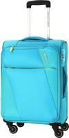 American Tourister Michigan SP57CM TSA Expandable Cabin Luggage - 22 inch(Blue)