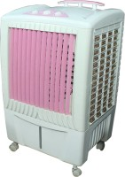 AdevWorld THUNDER AIR Desert Air Cooler(Pink, 55 Litres)