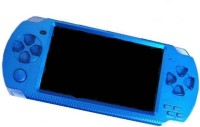 qp360 QP 1001 PSP blue 10000 with CAR RACING, ACTION GAMES, ARCADE, SHOOTING, WRESTLING, SPORTS, SHOOTING(Blue, 3d Gaming & Digital Player, Pre-Built High Definition 10000 3d Games, Supports Multi Languages ( 20 Types ), Tv Out Capability & Built In Speaker ( Play Your Games On A Larger Screen With