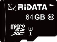 Ridata Ultra 64 GB SDXC UHS Class 1 70 MB/s  Memory Card(With Adapter)