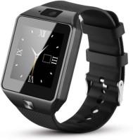 4g gadgets Smart Mobile Smartwatch(Black Strap Reguler)