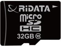 Ridata 32GB 32 GB SDHC Class 10 20 MB/s  Memory Card(With Adapter)