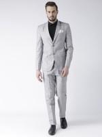Hangup regualr Solid Men Suit