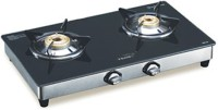 V-Guard V Guard gas top Stanless Steel Stainless Steel Manual Gas Stove(2 Burners)