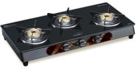 V-Guard VGM 3C Stainless Steel Manual Gas Stove(3 Burners)