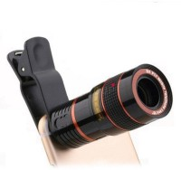 Rewy 8x Zoom Mobile Phone Telescope Clip Lens For Cell Phone Optical Lens Magnifier For All Android And IOS Device (Assorted Colour) Mobile Phone Lens