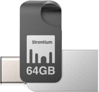 Strontium Nitro Plus 64 GB Pen Drive(Multicolor)