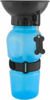 House of Quirk Travel Pet Dog Water Bottle Mug Cat Puppy Hydrated On The Go Cup Holder Plastic Pet Bottle(500 ml Multicolor)