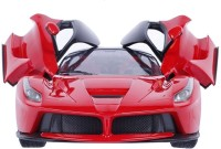 Elektra Ferrari Max Speed Remote Control Car with Opening Door (Red)(Red)
