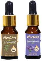 Herbins Essential Oil (Tea Tree & Lavender)(20 ml)
