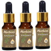 Herbins Tea Tree Essential Oil Combo - 3(30 ml)
