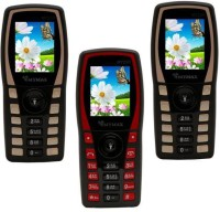 Mymax M7250 Combo of Three Mobiles(Black&Gold$$Black&Red$$Black&Gold)