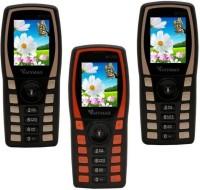 Mymax M7250 Combo of Three Mobiles(Black&Gold$$Black&Orange$$Black&Gold)