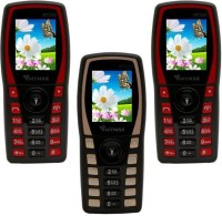 Mymax M7250 Combo of Three Mobiles(Black&Red$$Black&Gold$$Black&Red)