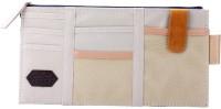 House of Quirk Auto Car Sun Visor Organizer Pouch Bag Card Storage Holder Multi-Purpose Storage Bag - Beige Visor Pouch(Beige)