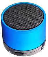 ELECTRON Mini S10 LED Light Enabled Blue Speaker with TF Micro SD Memory Cards Supports All Android and Apple Iphone Ios Smartphones Tablets Laptops Devices 3 Bluetooth Speaker(Blue, 4.1 Channel)