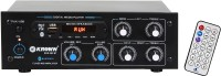 KE Krown 6000W PMPO Dual Channel Stereo with inbuilt Bluetooth, FM & USB KHS-302 60 W AV Power Amplifier(Black)