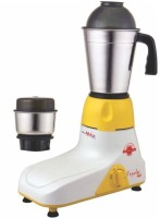 MinMAX Papular Mini Powerful Motor 500 Mixer Grinder(Ivory, 2 Jars)