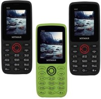 Mymax M42 Combo of Three Mobiles(Black&Red$$Green&Black$$Black&Red)
