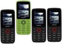 Mymax M42 Combo of Four Mobiles(Black&Red$$Green&Black$$Black&Red$$Black&Red)