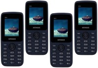 Mymax M42 Combo of Four Mobiles(Blue&Black$$Blue&Black$$Blue&Black$$Blue&Black)