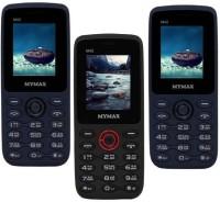 Mymax M42 Combo of Three Mobiles(Blue&Black$$Black&Red$$Blue&Black)