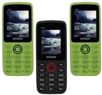 Mymax M42 Combo of Three Mobiles(Green&Black$$Black&Red$$Green&Black)