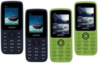 Mymax M42 Combo of Four Mobiles(Blue&Black$$Blue&Black$$Green&Black$$Green&Black)