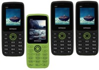 Mymax M42 Combo of Four Mobiles(Black&Green$$Green&Black$$Black&Green$$Black&Green)