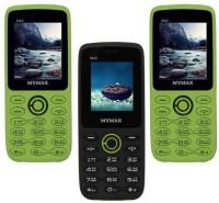 Mymax M42 Combo of Three Mobiles(Green&Black$$Black&Green$$Green&Black)