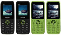 Mymax M42 Combo of Four Mobiles(Black&Green$$Black&Green$$Green&Black$$Green&Black)