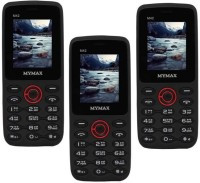Mymax M42 Combo of Three Mobiles(Black&Red$$Black&Red$$Black&Red)