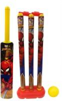 Marvel Spider-Man Large Size Bat, Stumps and Ball Cricket Kit