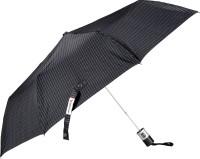 Elephant 3 Fold Automatic Button Press GENTS CHECKS Dot Line PRINT Silver Coated umbrella. Umbrella(Grey) thumbnail