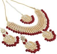 I Jewels Alloy Jewel Set(Red)