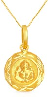Malabar Gold and Diamonds PDCOVM0001 22kt Yellow Gold Pendant