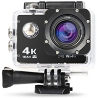 OASIS 4K Shot Full HD 12MP 4K Black Helmet Sports Action Waterproof Sports and Action Camera Sports and Action Camera(Black, 12 MP)