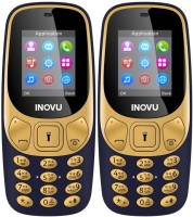 Inovu A1 Combo of Two Mobiles(Blue & Blue)
